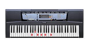 piano keyboard with light up keys yamaha ez 200 61 key musical keyboard