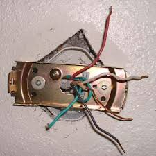 ceiling fan design wiring green red white black stainless replace