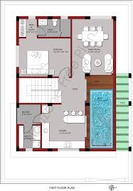 first floor plan for 200 sq yards plot size u2013 houzone