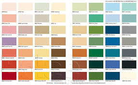 kcc paint color chart ideas color list equivalence ip ral