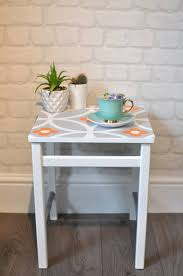 Vintage Small Desk by Upcycled Vintage Small Retro Side Table Coffee Table In Layla