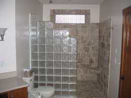 glass block bathroom ideas glass block wall bathroom home design ideas and pictures