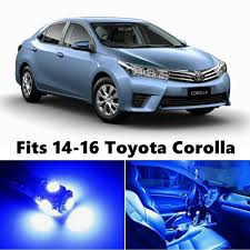carousel toyota amazon com 8 x premium xenon white led lights interior package