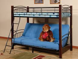Futon Bunk Bed Wood Wood And Metal Futon Bunk Bed Love This Bunk Bed See More At