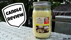 paula deen collection lemon bars candle review youtube