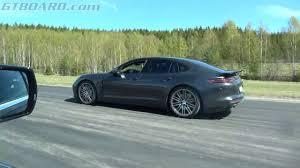 Porsche Panamera Horsepower - 4k cadillac cts v 649 hp vs porsche panamera turbo 550 hp