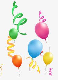 balloon ribbon balloon ribbon balloon silk ribbon png image