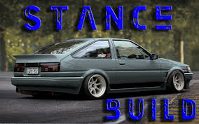 stance toyota toyota ae86 stance build stuner ep19 youtube