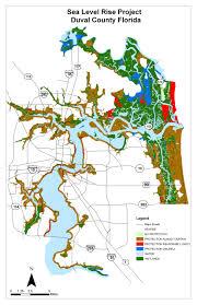 Jacksonville Map Adapting To Global Warming