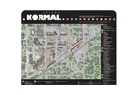 Normal Illinois Map by Global Defoe Attractions