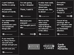 cards against humanity expansion house of cards cards against humanity your new favorite