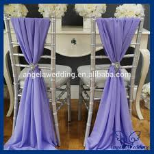 Pink Chair Sashes Sh001b Wholesale Cheap Elegant Fancy Pink Organza Wedding Curlly