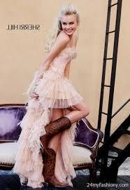 turmec strapless black dress cowgirl boots