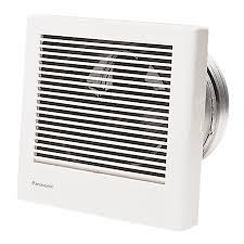 panasonic recessed light fan shop panasonic 1 1 sone 70 cfm white bathroom fan energy star at