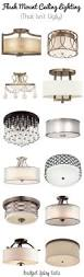 decorating our castle seeking flush mount lighting options that
