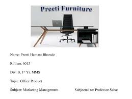 Office Furniture Names by Marketing Mix P U0027s Of Office Furniture