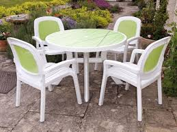 round resin patio table round plastic patio table and chairs lovely patio dining sets round