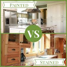 painted vs stained kitchen cabinets kitchen cabinets painted or stained distinctive designs