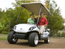 yamaha drive first to offer fuel injected golf carts golf cart