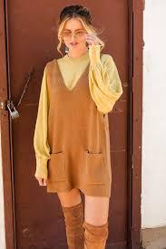 yellow sweater dress dress sweater dress camel sleeveless sleeveless dress
