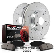 amazon com power stop k690 front z23 evolution brake kit with