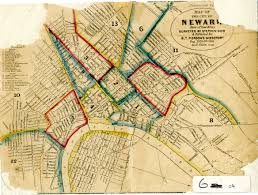 Map Of Jersey City Maps In The Littman Library And Newark Public Library Barbara