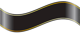 black and gold ribbon black banner png clipart gallery yopriceville high quality