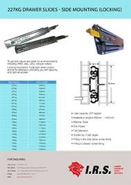 drawer slide locking mechanism 227kg drawer slide locking heavy duty