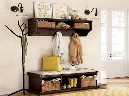 Bench For Foyer by Entryway Benches With Storage And Coat Rack Pollera Org Images