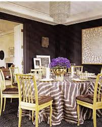 Zebra Dining Room Chairs by Zebra Tablecloth Eclectic Dining Room