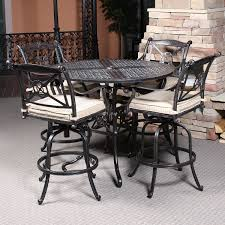 Outdoor Bistro Table Bar Height Magnificent Outdoor Bistro Table Set Bar Height With Patio