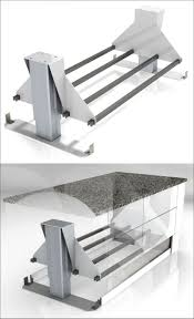 kitchen island heights kitchen design idea adjustable height kitchen island contemporist