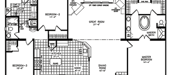 Classic Home Floor Plans Ranch Homes With Garages Ranch Modular Home Floor Plans Classic