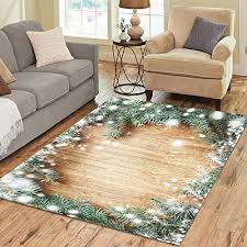 Custom Made Area Rugs Love Nature Sweet Home Stores Collection Custom Christmas Tree