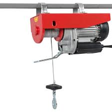 1500lb pro electric motor overhead winch hoist crane lift w
