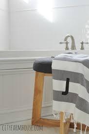 All White Bathroom All White Master Bathroom Progress City Farmhouse