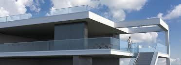 balkon glasscheiben geländer aus edelstahl bei inox weber günstig kaufen