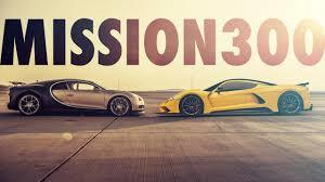 target 300mph bugatti chiron vs hennessey venom f5 top gear