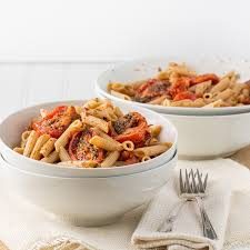 Main Dish With Sauce - pasta with roasted tomato sauce mccormick