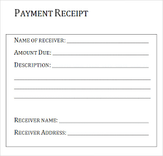 7 best images of medical payment receipt template medical bill