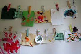 how to display kids artwork tonya staab