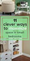 Maximize Space Small Bedroom by Best 25 Maximize Space Ideas On Pinterest Garage Organization