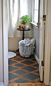 painting a floor meghan s 10 bathroom floor makeover porch flooring floor