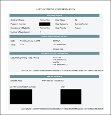 Confirmation Of Appointment Letter Sample The Ultimate Guide To Getting A Usa Visitor U0027s Visa B1 B2 For