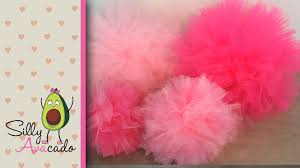 tulle pom poms how to make tulle pom poms last longer than tissue paper pom poms