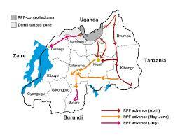 Rwanda Map File Rpf Advance Rwandan Genocide 1994 Jpg Wikimedia Commons