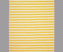 Yellow Striped Rug The Gradiated Stripe Rug In White And Blue