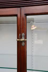 Mahogany Display Cabinets With Glass Doors by Antique Mahogany Shop Display Cabinet For Sale At Pamono