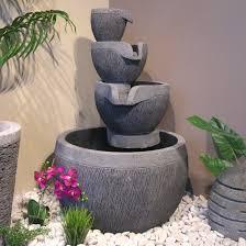 fontaine murale en zinc fontaine de jardin jardin u0026 bricolage