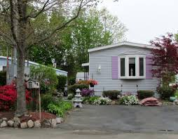 Remodeling Mobile Home Ideas Mobile Home With Colorful Landscaping Upward Mobility